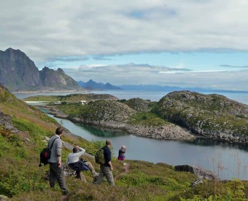 Walking on holiday in the Lofoten