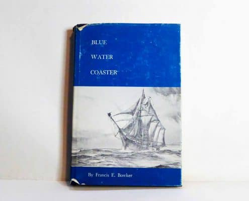 Blue Water Coaster By Francis E Bowker