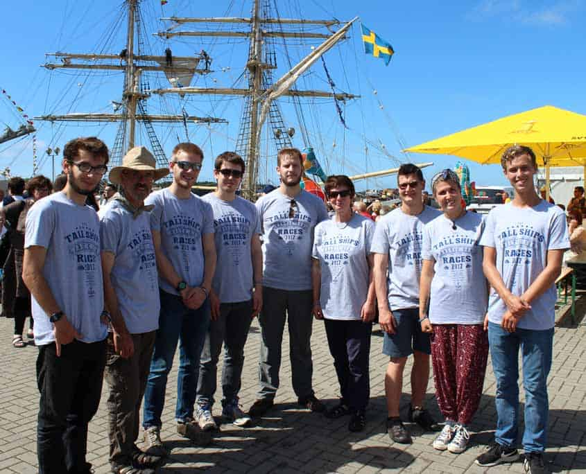 Tall Ships Races Crew - Team Trinovante