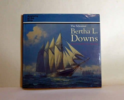 The Schooner Bertha L Downs By Basil Greenhill And Sam Manning