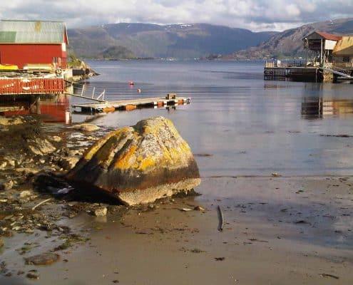 Silde island, Norway