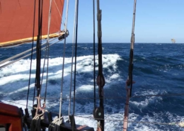 Sailing offshore on a voyage to Norway -facebook image
