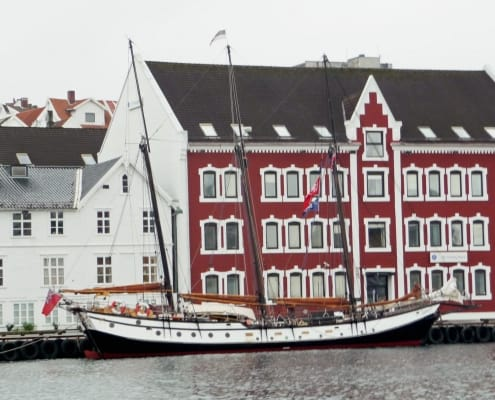 The schooner Trinovante in Stavanger, Norway