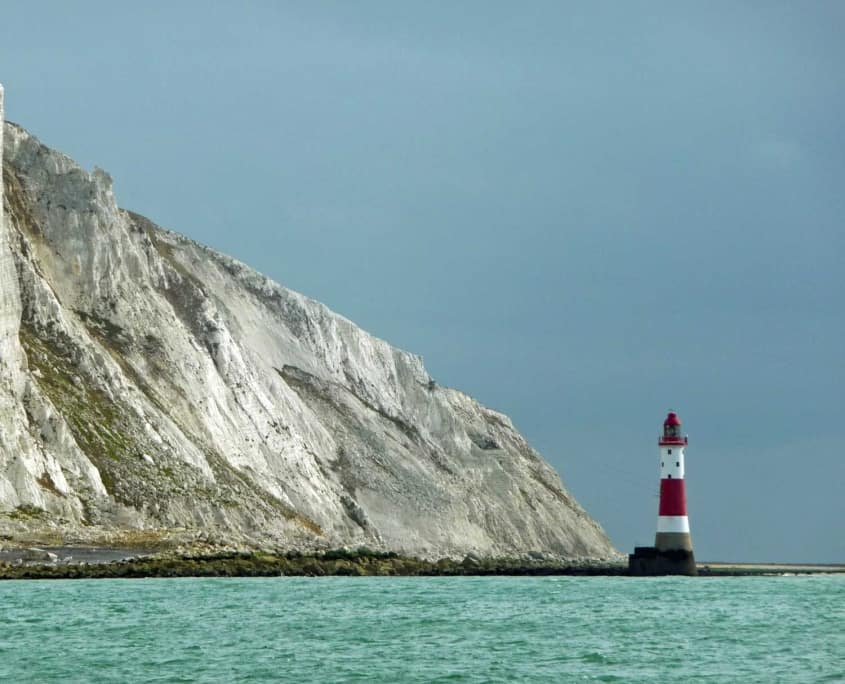 Beachey head from the sea - taken on a sailing holiday.